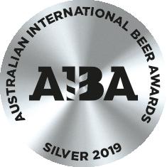 Australian International Beer Awards 2019: Silver Medal