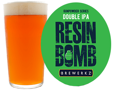 GREEN GUNPOWDER DIPA SERIES: RESIN BOMB
