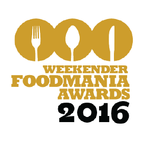 Weekender FoodMania Awards 2016