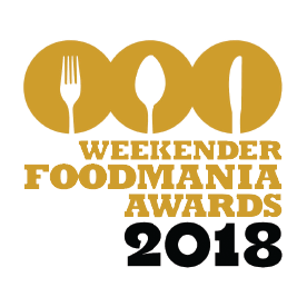 Weekender FoodMania Awards 2018