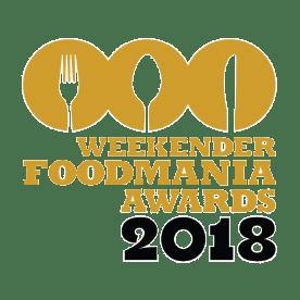 Weekender FoodMania Awards 2018