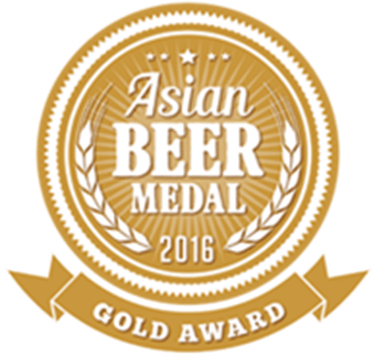 Asian Beer Medal - Gold 2016