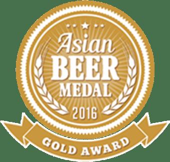 Asian Beer Medal - Gold 2016