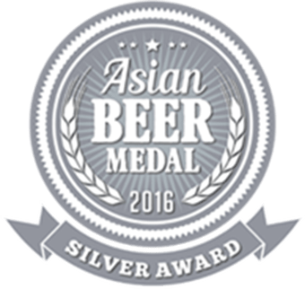 Asian Beer Medal - Silver 2016
