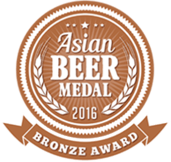Asian Beer Medal - Bronze 2016