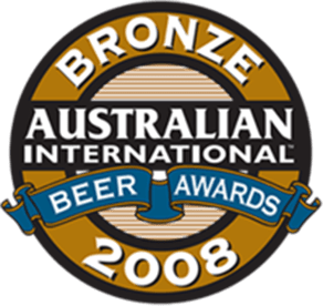 Australian International Beer Awards - Bronze 2008