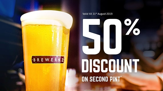 50% OFF Second Pint