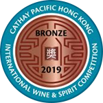 Cathay Pacific Hong Kong International Wine & Spirit Competition - Bronze