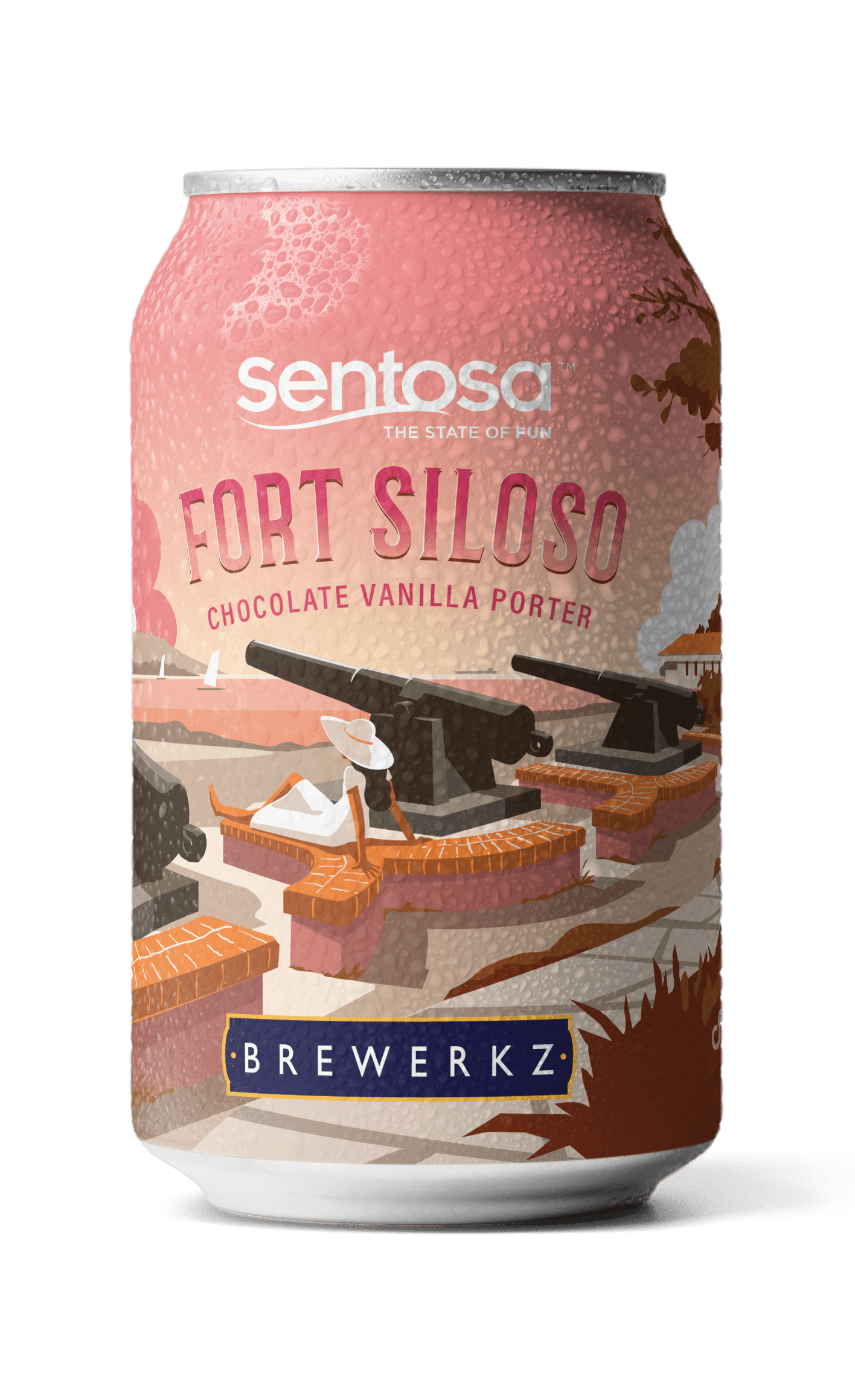 Fort Siloso Chocolate Vanilla Porter