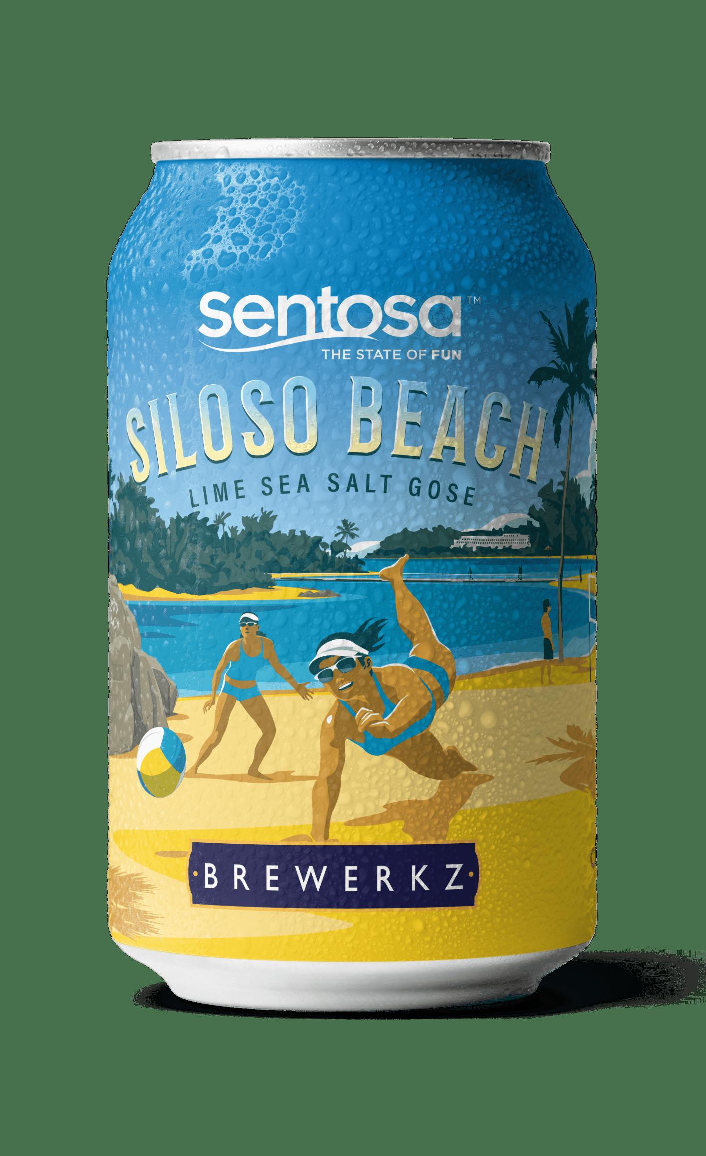 Siloso Beach Lime Sea Salt Gose